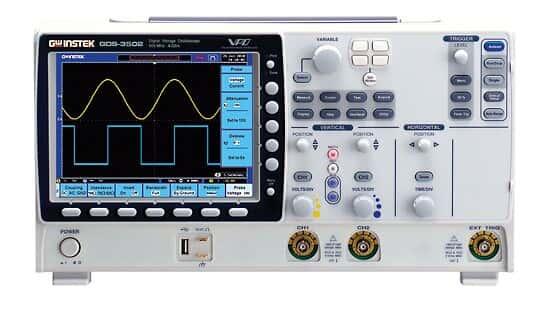 GW Instek GDS-3502 Oscilloscope, 2 Channel, 500 MHz
