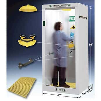 HEMCO Emergency Shower/Decontamination Booth, 40