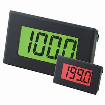 Lascar DPM 942-FPSI 4-20mA Loop Panel Meter with Programmable Red/Green Backlighting