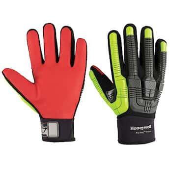 Honeywell Rig Dog™ Xtreme Impact ANSI A6 Cut-Resistant Glove, Slipon Cuff, 9/L