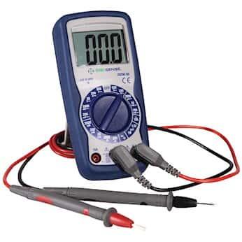 Digi-Sense Compact Digital Multimeter, Manual-Ranging with NIST-Traceable Calibration