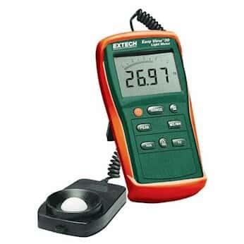 Extech EA30-NIST Easyview Wide-Range Light Meter with NIST-Traceable Certificate