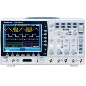 GW Instek GDS-2304A Digital Oscilloscope, 4 channel, 300 MHz