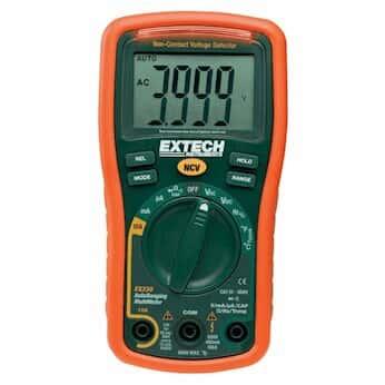 Extech EX310 Mini Manual Ranging Multimeter + Voltage Detector