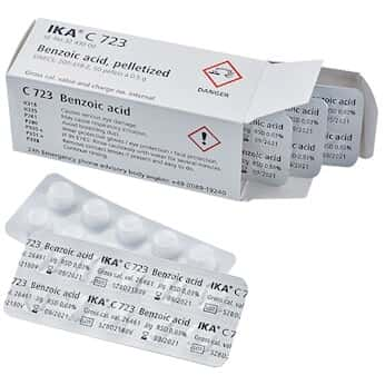IKA 3243000 Benzoic Acid Blister Package, calibration standard for Calorimeters