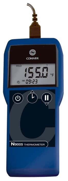 COMARK N9005 Waterproof Thermocouple Thermometer, Single Input