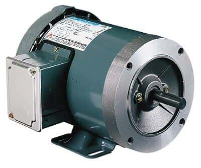 General Purpose Three-phase TEFC/ODP NEMA Type C-face Motor, 1/2 Hp, 1800 RPM