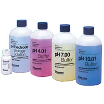 Thermo Scientific 810199 All-in-One pH Buffer Kit with Cleaning Solution