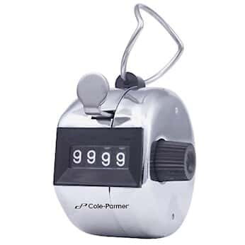 Cole-Parmer Handheld Tally Counter; 1/Ea