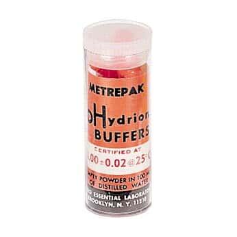 Metrepak 272,PH4 pH 校准缓冲液胶囊, 4.0, 橙色, 10 个/标本瓶