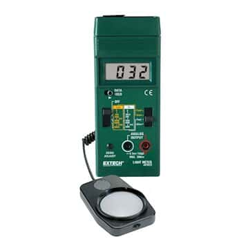 Extech 401025 Dual-Scale Light Meter with Analog Output