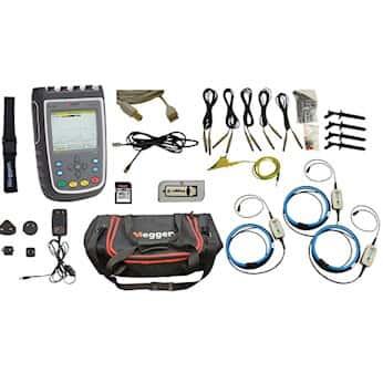 Megger MPQ1000-G-KIT Power Quality Analyzer, Gold Kit