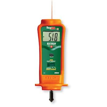 Extech RPM10 Combination Laser Tachometer with Infrared Temperature