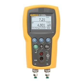 Fluke 721-1601 Precision Pressure Calibrator, dual 16 and 100 psig sensors