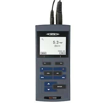 WTW 2BA101 ProfiLine Oxi 3205 Dissolved Oxygen Meter w/CellOx 325 Probe, 1.5 m