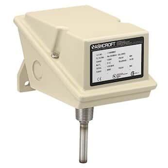 Ashcroft LTD Temperature Switch Direct Mount, 9.0