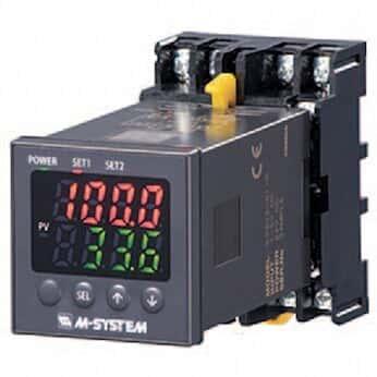 M-System KS2TR2-1-M2/UL Temperature Input Limit Alarm, T/C or RTD, 100-240 VAC