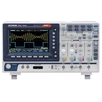 GW Instek GDS-1102B Digital Storage Oscilloscope, 100 MHz, 2 channel, 100-240VAC