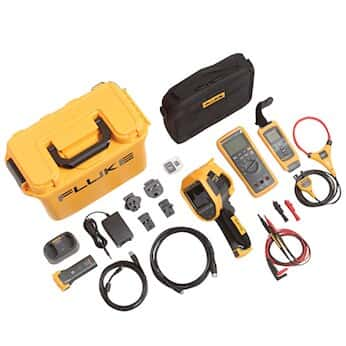 Fluke FLK-TI400 60HZ/FCA Thermal Imager with 3000 Fc DMM and A3001Fc Iflex Module Kit