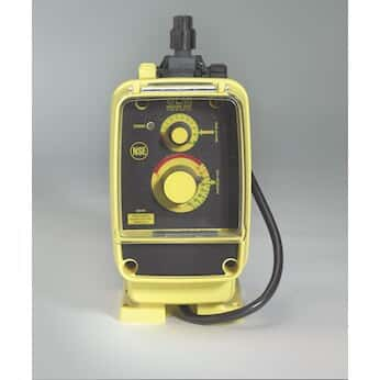 LMI AA152-398SI Manual control solenoid diaphragm metering pump, 1.0 GPH, 230 VAC
