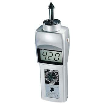 Cole-Parmer Contact Tachometer with LCD Display and 12