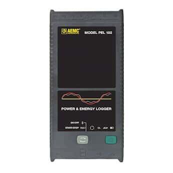 AEMC PEL 102 Power and Energy Logger, No Display; With Sensors