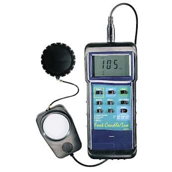 Extech 407026-NIST High-Intensity Dual-Scale Light Meter with NIST-Traceable Calibration Certificate