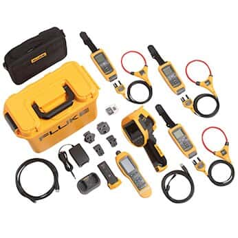 Fluke FLK-TI400 60HZ/FCB Thermal Imager with (3) A3001 Iflex and 805Fc Vibration Meter Kit