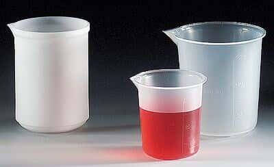 Scienceware 26214-0000 Tapered Polypropylene Beaker, 400 mL