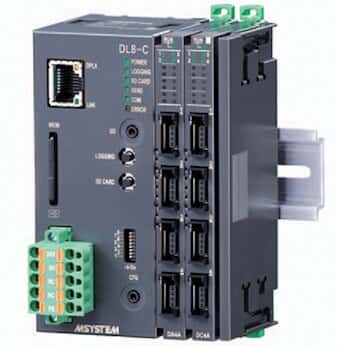 M-System R8-SV4N Series Input Module, -10 to 10 VDC, non-isolated, 4 channel