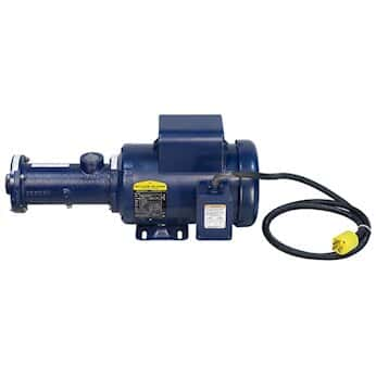 Seepex MD 05 Industrial progressing cavity pump with an AC VFD drive, 3.7 - 416 GPH