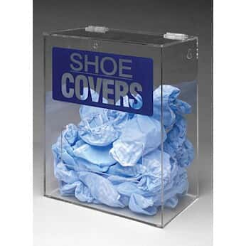 Brady PD322E Tabletop or Wall-Mount Safety Shoe Cover Dispenser