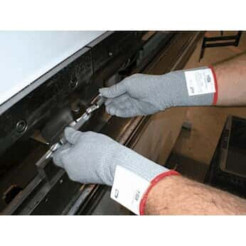 Showa Best 8115-08 Cut-Resistant Glove, Uncoated; size, Medium