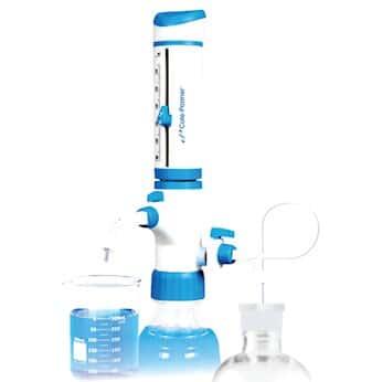 Cole-Parmer Dual-Inlet Bottletop Dispenser, 10-100 ML