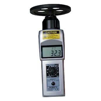 Shimpo DT-205LR-S12 Contact/Noncontact LCD Tachometer with 12