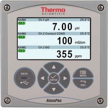 Thermo Scientific AP4XXXK AquaPro Analyzer with Toroidal Conductivity Module