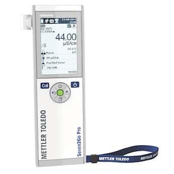 Mettler Toledo S7-Meter Portable Conductivity Meter; Pro, 0.01 uS to 1000 mS