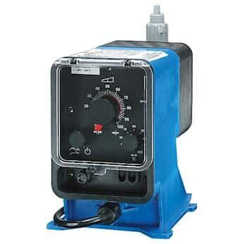 Pulsafeeder LPH8MB-WTCB-XXX E Plus Solenoid Diaphragm Pump, 4 to 20 mA, 500 GPD, 230 VAC