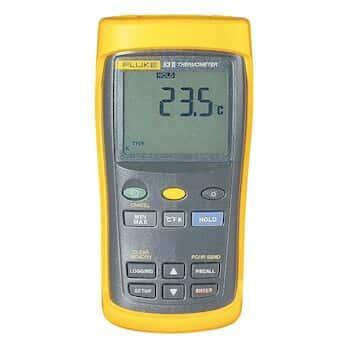 Fluke 53-2 B 60HZ Single-Input Datalogging Thermocouple Thermometer