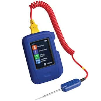 COMARK HtT100/PK15 HACCP-Series Touch Data Logging Thermometer with Pk15 Thin Penetration Probe
