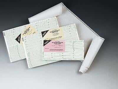 Oakton Hygrothermograph Chart Recorder Paper; -10-50C, 1 Day, 15 Minute; 100/Pk