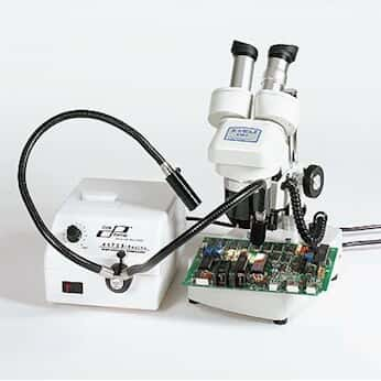 Cole-Parmer Microscopy Fiber Optic Illuminator w/Gooseneck; 230 VAC