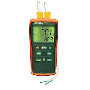 Extech EA10 Easyview 热电偶温度计 - 双通道