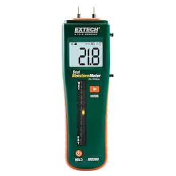 Extech MO260 Pocket Moisture Meter with Pin/Pinless Combination