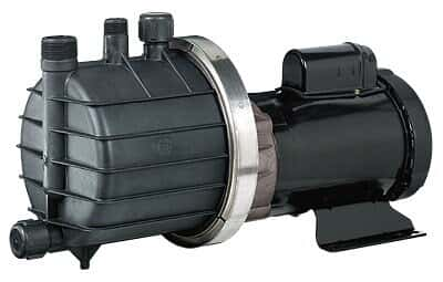 Chemical-Duty Transfer Pump with Kynar Head, 53 GPM max flow