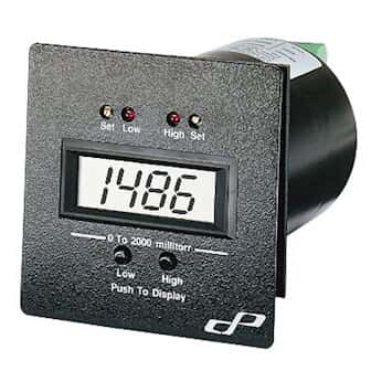 Cole-Parmer 1 to 2000 mTorr Pressure/Vacuum Controller for Pirani-Type Sensor