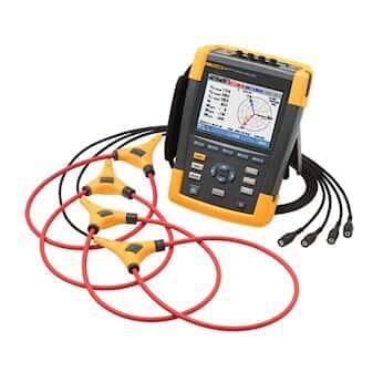 Fluke 435-II 3-Phase Power Quality and Energy Analyzer Kit