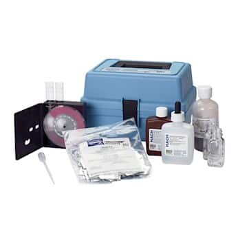 Hach 2113300 PN-10 Phosphonate Color Disc Test Kit with UV Lamp and Power Supply; 115 VAC