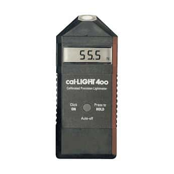 PCO-Tech CAL-LIGHT400L Precision Light Meter with NIST-Traceable Calibration Certificate