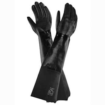 Ansell 19-026 214022 Heat-Resistant, Lined Neoprene Gloves, size 8, 26